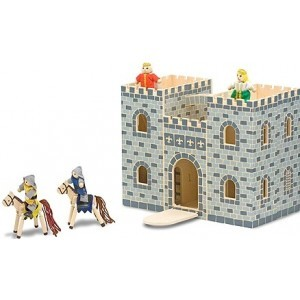 Portable wooden castle - Melissa & Doug (13702)