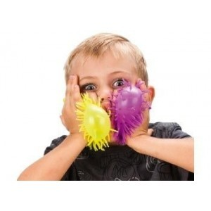 Puffer Ball Kit of 12 Assorted Colours - Sensory Education (G8-X12 PIECES)