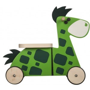 Wooden Sit 'n' Ride Dinosaur Walking Bike - Gepetto RN01