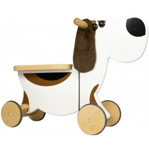 Wooden Sit 'n' Ride Dog Walking Bike - Gepetto NRP01