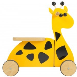 Wooden Sit 'n' Ride Giraffe Walking Bike RD01 - Gepetto