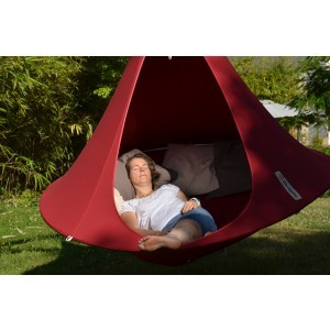 Hanging tent (Chili Red) 2 persons - Cacoon (DR005)