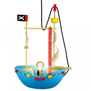 Niermann Pendant lamp Pirate ship