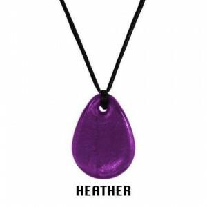 Chewigem Chewing Necklace – Heather Raindrop