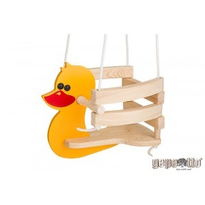 Wooden Baby Swing Duck - Gepetto HK00
