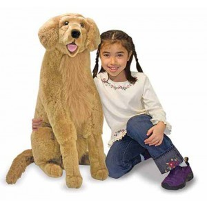 Large Plush Dog Labrador Max