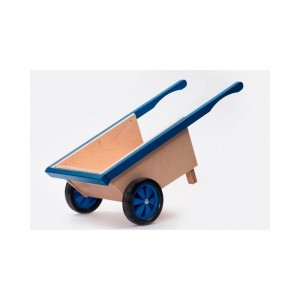 Wooden Wheelbarrow Red - ADO Toys (ADO Toys-19)
