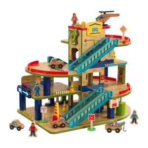 Wooden Car Garage Wash N Go - KidKraft (63470)