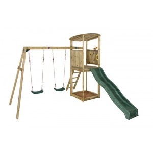 Wooden Bonobo Playground Equipment - Plum (7092138)