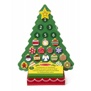 Wooden Countdown to Christmas Advent Calendar - Melissa & Doug (13571)