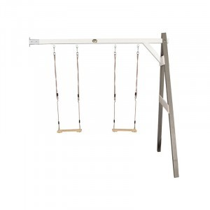 Wooden Double Wall Swing (gray / white) - AXI (A030.139.02)