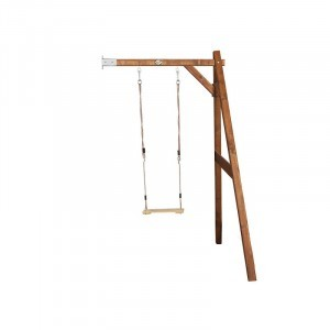 Wooden Single Wall Swing (brown) - AXI