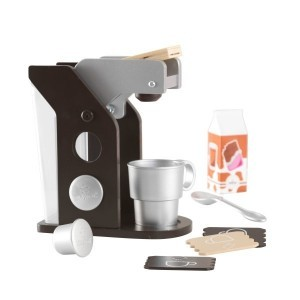 Wooden Espresso Coffee Set - Kidkraft (63379)