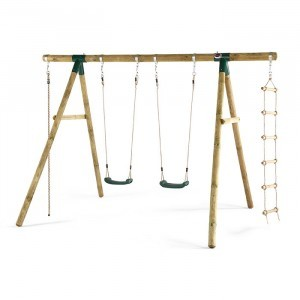 Wooden Gibbon Swing - Plum