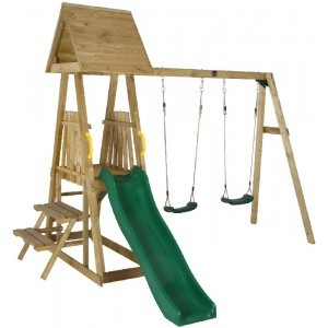 Wooden Indri Playground - Plum (7092052)