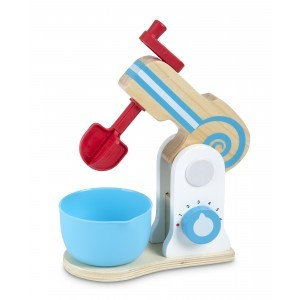 Wooden Make-a-Cake Mixer Set - Melissa & Doug (19840)
