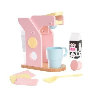 Wooden Pastel Coffee Set - Kidkraft (63380)