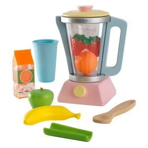 Wooden Pastel Smoothie Set - Kidkraft (63377)