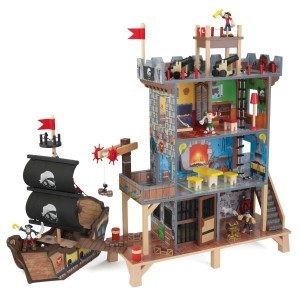 Wooden Pirates Cave Play Set - Kidkraft (63284)