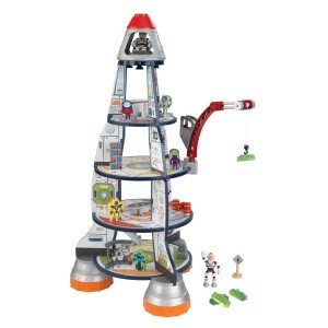 Wooden Rocket Ship Play Set - Kidkraft (63443)