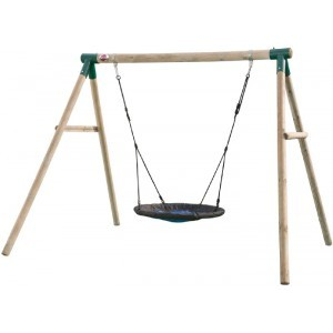 Wooden Spider Monkey II Nest Swing - Plum (7092046)