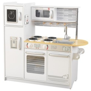 Wooden Uptown Kitchen (white) - Kidkraft (53335)
