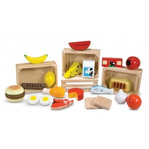 Wooden Play Food Set - Melissa & Doug (10271)