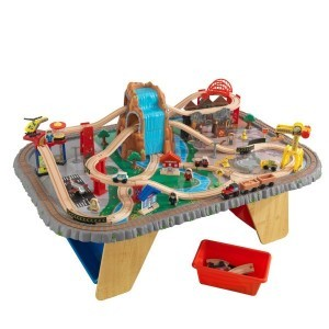 Wooden Waterfall Junction Train Set & Table - Kidkraft (17498)