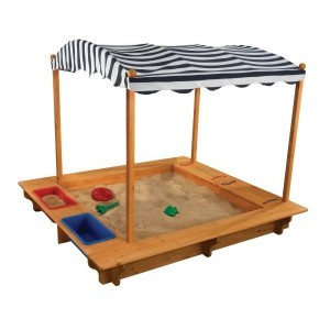 Wooden Sandbox with Canopy - Kidkraft (00165)