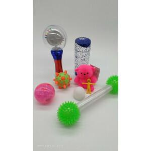 Tactile and visual sensory kit 9 pieces SENS001