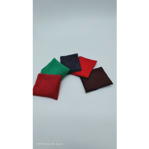 Weighted Tactile Bean Bags - Set of 5 - (30417)