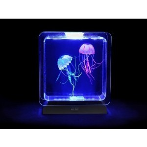 Square Jelly Fish Tank for Visual Stimulation and Home Decor