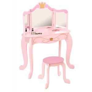 Princess Vanity & Stool - Kidkraft (76123)