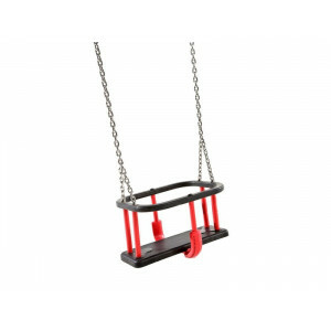 Baby Swing Rubber Basic with Galvanized Chains Public