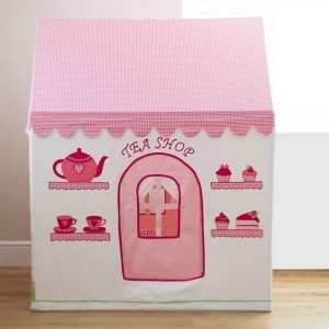 Rose Cottage & Tea Shop Small Playhouse - Kiddiewinkles (kiddiewinkles-1)