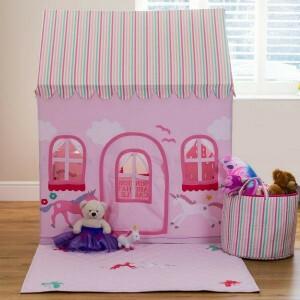 Large Princess Castle & Unicorn Playhouse - Kiddiewinkles (kiddiewinkles-7)