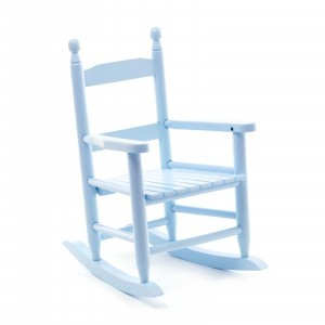 Blue Children Rocking Chair