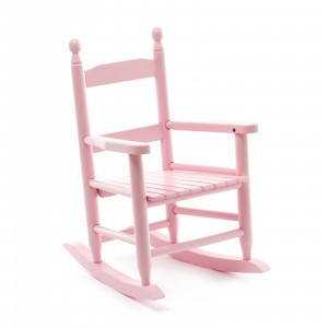Pink Children Rocking Chair