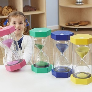 4 Pack Mega Sand Timer Kit - Sensory Education (KIT-CD-4packkit)