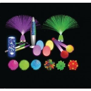 18 Piece Sensory Lighting Kit - Sensory Education (KIT-D44124)