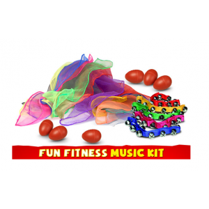 Fun Fitness Music Kit - Sensory Education (KIT-SE17065499)