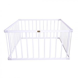 Little Boss Playpen Square – White - Liberty House Toys (LBPP01W)