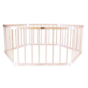 Little Boss Playpen Hex – Natural - Liberty House Toys (LBPP11N)