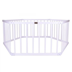Little Boss Playpen Hex – White - Liberty House Toys (LBPP11w)