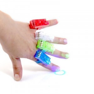 Pack of 12 Finger Lights