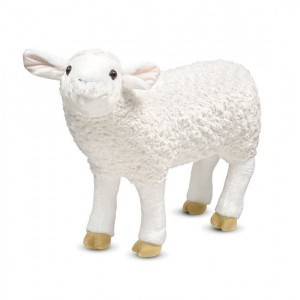 Lifelike Plush Sheep - Melissa & Doug (18265)