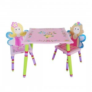 Fairy Table & Chairs Set - Liberty House Toys (LHT10032)