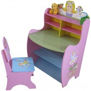 Fairy Learning Desk and Chair - Liberty House Toys (LHT10040)