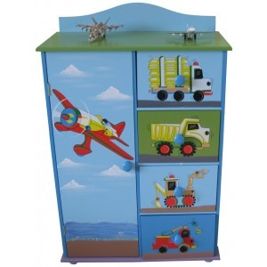 Transport Cabinet & Drawers - Liberty House Toys (LHT10051B)