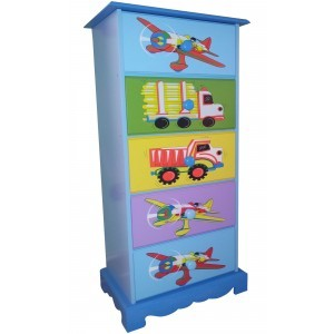 Transport 5-drawer Storage - Liberty House Toys (LHT10065B)